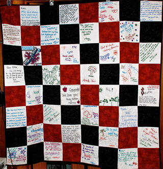 Graduation Message Quilts Lefty Quilter Creations